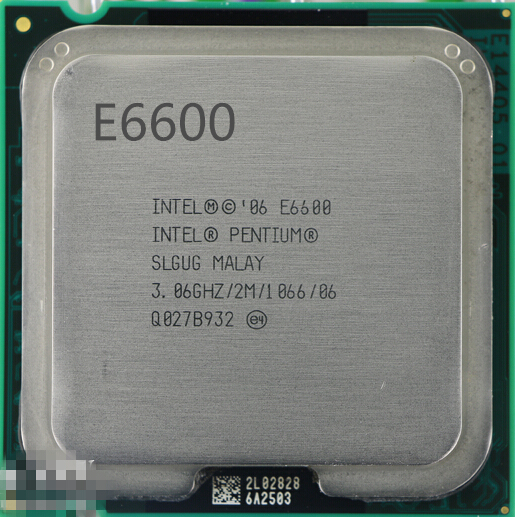 Online Shop Intel Pentium E6600 CPU 3.06 GHz Processor ( 3.06 Ghz ...